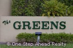 sign for Greens, The of Boca Golf & Tennis CC